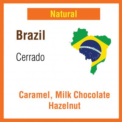 Brazil Cerrado (Green Bean)