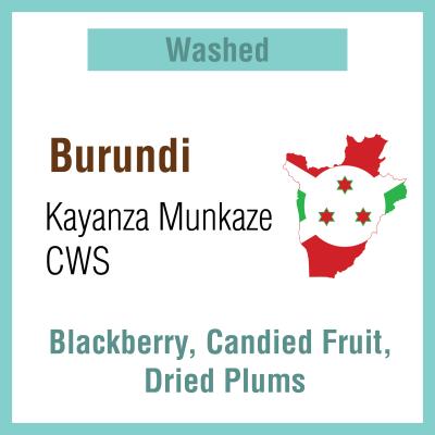 Burundi Kayanza Munkaze CWS