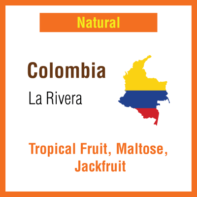 Colombia La Rivera Natural (Green Bean)
