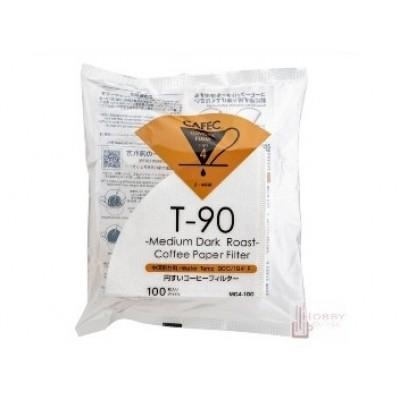 CAFEC Medium Dark Roast Coffee Filter Paper (2-4 Cup)
