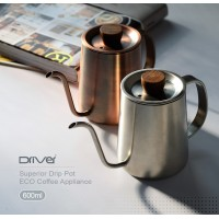 Driver Superior Hand Drip Kettle 600ml (Red Copper)