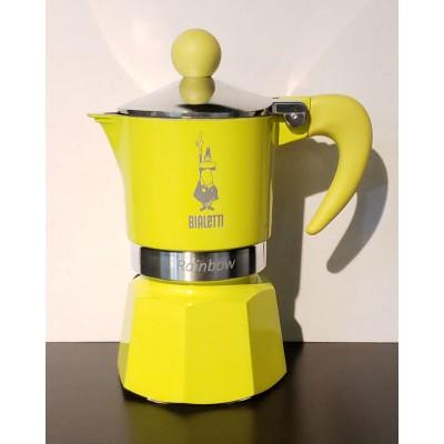 BIALETTI Moka Pot - Yellow