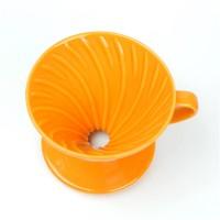 Hario X ILCANA V60橙色02彩虹磁石濾杯