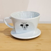 Kalita 陶瓷濾杯 101 Mickey 特別版