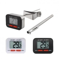 AKIRAKOKI Digital Thermometer (White)